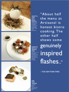 Sarid Drory - What new york times said about Artisanal Fromagerie & Bistro